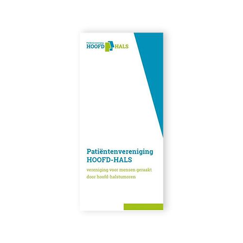 Informatiefolder Patiëntenvereniging Hoofd-Hals