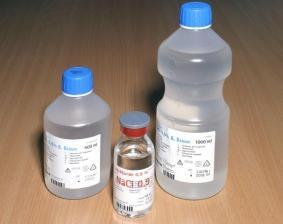 Fysiologische Zoutoplossing (NaCl) 0,9% 1 Liter